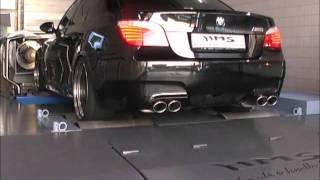 BMW M5 V10  Leistungsmessung auf HMS-Tuning Prüfstand