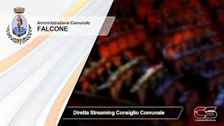Falcone - 10.11.2019 diretta streaming del Consiglio Comunale - www.canalesicilia.it