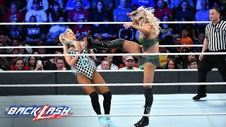 Charlotte brings a relentless offense against Carmella: WWE Backlash 2018 (WWE Network Exclusive)