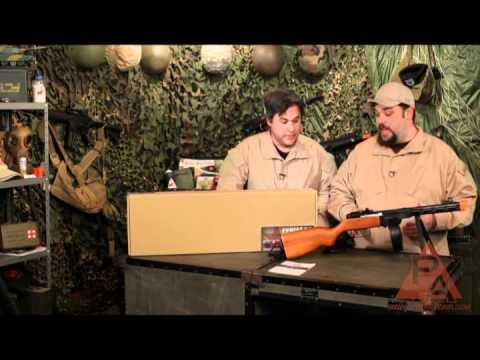 Video: S&T Armament PPSH AEG Airsoft SMG - RFR Episode 40   Pyramyd Air
