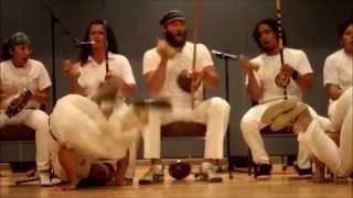 Mestre Cabello and Professor Avi- Centro Capoeira Angola OuroVerde Flagstaff