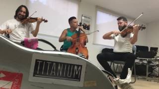 Strings Coldplay Viva la Vida feat Trio Titanium Brazil