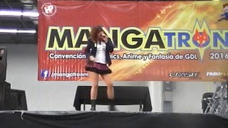 Live Cover 「Inochi wa Utsukushii」 Elen Mercado en Mangatron 2016