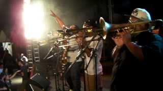 "The Soul Rebels ""Sweet Dreams""- Bourbon Street Festival - Ibirapuera Park, São Paulo, Brazil"