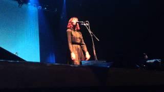 Sarah Blasko - LIVE - We Won't Run -  Barbican Centre, London 11/04/13