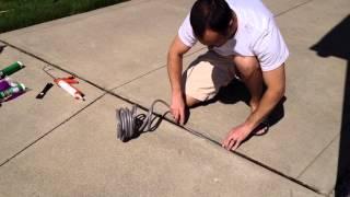 DIY Repair Driveway Expansion Joints