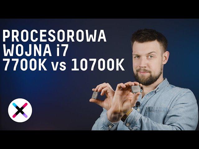 Intel I7 7700K vs I7 10700K - WOJNA 14 nm INTELA! 🏹🔪 | Test i porównanie