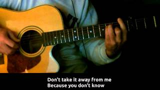 Scorpions - Love of My Life [Karaoke/Guitar Instrumental] Lyrics on Screen HD REQUEST