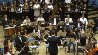 Coral Exultai Musical Gospel 2016 - Concerto Musical