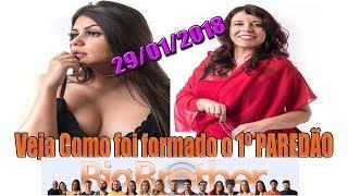 1º Paredão bbb18 |29/01/2018| Ana Paula x Mara | Big Brother Brasil 2018