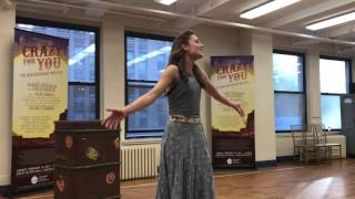 """Laura Osnes – """"Someone to Watch Over Me"""" from Crazy For You"""