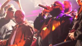 Rick Ross performs at Birdman Allstar Weekend birthday bash