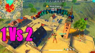 Solo vs duo only clock tower   clock tower booyah tricks & tips in Free fire   Run Gaming Tamil