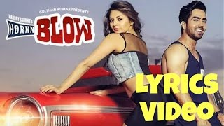 Hornn Blow | Hardy Sandhu | Lyrics Video