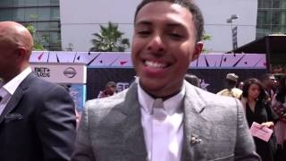 DC Livers.com presents: Diggy Simmons LIVE from BET Awards 2015