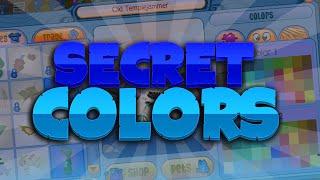 EVERY SECRET/HIDDEN COLOR IN ANIMAL JAM!
