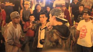 Zona Infame vs Mc's - Batallas Raptonda 2016 [08-Enero]