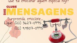 Clube das Mensagens - Aniversário para EX-NAMORADO - Voz Feminina