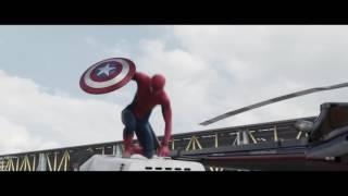 Homem Aranha (Capitão América Guerra Civil) Dublado HD