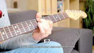 When The Scales Perfectly Fit The Chords – Chord Tone Targetting Blues Guitar Solo Example