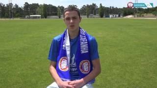 Luís Breda é um dos jogadores que renova com o GD Gafanha