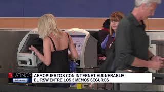 Aeropuertos con WIFI más vulnerable