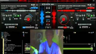 DJ R!SK (Mixing Dubstep [playing around])