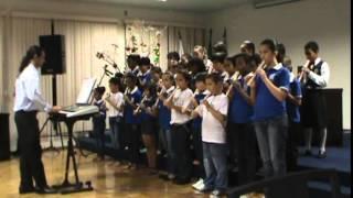 Ode A Alegria (Beethoven) (Flauta Doce) - Pequenos Flautistas - São Domingos do Prata 17-12-14