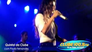 Paula Fernandes cantando Mineirinha Ferveu no Quintal da Clube HD