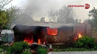 Сгорели дачные домики