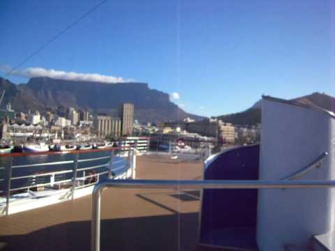 Table Mountain from the MV Explorer