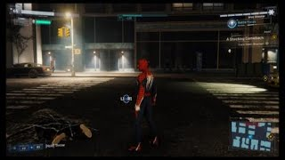 Spider-Man PS4 - Fighting Thug As He Falls Off Building