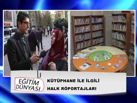 Mehmet Uğur Beşer / Kocaeli TV - Eğitim Dünyası Kocaeli'de Kütüphane Algısı