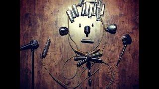 Electroharmonix B9 with diatonic harmonica