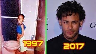 Siêu sao bóng đá Neymar Jr từ khi 1 tuổi đến 25 tuổi. Có thể lần đầu tiên bạn nhìn thấy.