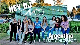 Hey DJ - CNCO (Argentina Fans Edition)