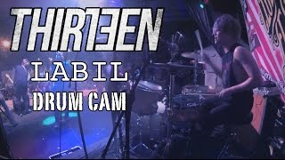 Bounty Ramdhan | Thirteen | Labil | Drum Cam (LIVE)
