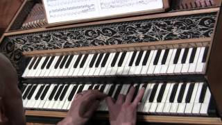 The Cadenza of Brandenburg Concerto No. 5 by J.S. Bach, performed by Alexander Weimann