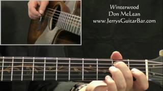 How To Play Don McLean Winterwood (intro only)