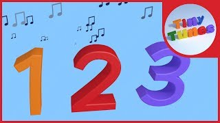 The Numbers Song | Counting Song | Numbers 1 to 10 | Tiny Tunes