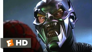 Spider-Man Movie (2002) - Spider-Man vs. Green Goblin Scene (8/10) | Movieclips