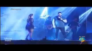 """Ivete Sangalo e Rode Torres cantam """"Zero a Dez"""" no Fest Verão PB 2017"""