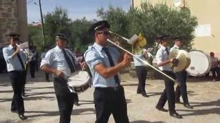 Felgueiras, Setembro 2016. - Procissão. - Banda Filarmónica do Felgar.