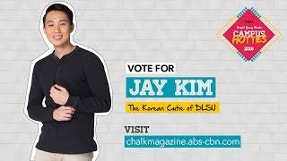 Vote for Jay Kim! #ChalkBYMCampusHotties2016