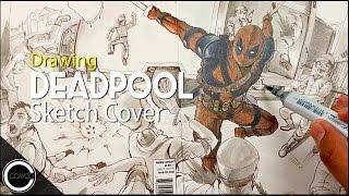 Drawing Deadpool Sketchcover