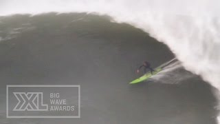 David Bustamante at Roka Puta - 2015 Billabong Ride of the Year Entry - XXL Big Wave Awards