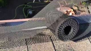 How to Install Rain Gutter Leaf Guard