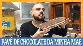COMO FAZER PAVÊ DE CHOCOLATE E CREME DA MINHA MÃE   Ana Maria Brogui