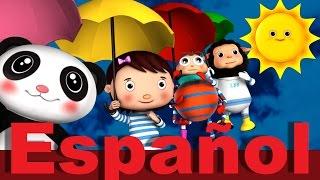Lluvia lluvia vete ya | Canciones infantiles | LittleBabyBum