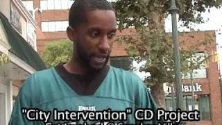 "Reading Pa ""City Intervention"".  A stop the violence CD project. Pt. 1"